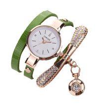 Женские часы, повседневные, кожаный ремешок, стразы, люксовый бренд, женские часы, женские часы, кварцевые наручные часы, Saat Reloj Mujer Relogio(Китай)