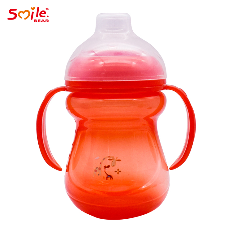 Eco-friendly baby cup with handle