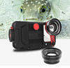CAPTRIP IPX8 multifunctional vacuum system design professional diving 60m underwater mobile waterproof diving case