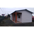 China custom sandwich panel cheap prefabricated one bedroom modular homes prefabricated house for family