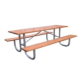 Picnic table set wooden antique picnic tables and park benches