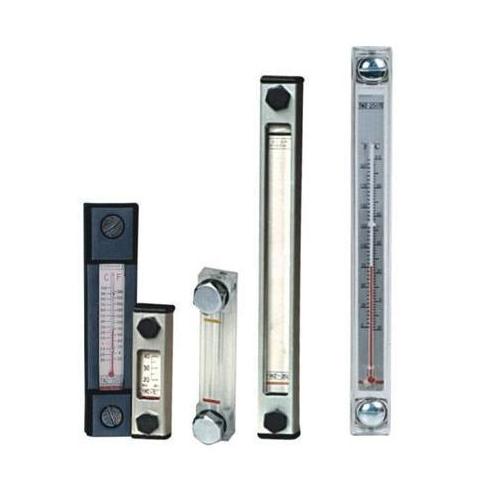 جديد نوع الهيدروليكية مقياس مستوى النفط ، الزجاج أنبوب مستوى السائل و مقياس درجة الحرارة