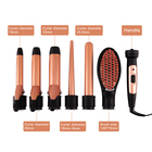 interchangeable hair straightener curling iron wand hair curler 5 in 1 hair curler set