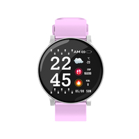 Hot Sell fitness tracker unisex W8 round healthy tracking sport watch smart watch band
