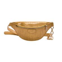 Женская поясная сумка из искусственной кожи, поясная сумка, женская сумка в виде банана, сумка для денег, женская модная дорожная сумка чере...(Китай)
