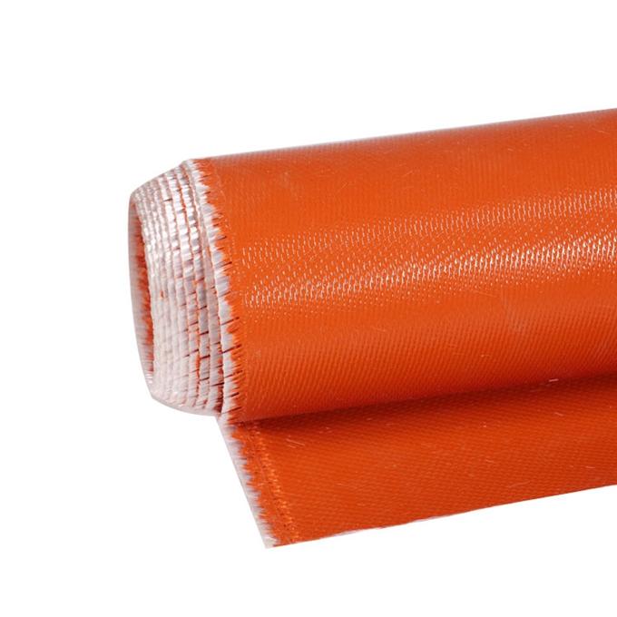 silicone coated adhesive fireproof fabric fiberglass cloth