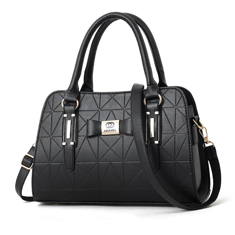 Bolsa de couro feminina fashion para senhoras
