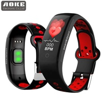 Q6S Fitness Band Health Equipment IP68 Waterproof BT4.0 Smart Bracelet With Heart Rate Blood Pressure Monitor
