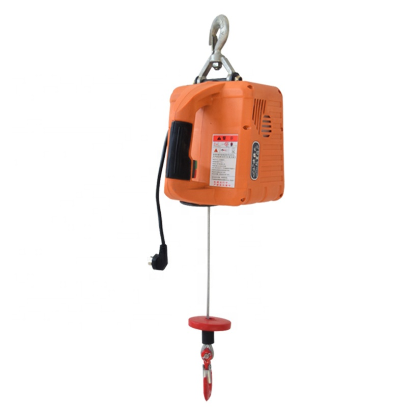 Factory Price Small Portable Towing Tools 200kg 220v Traction Block Electric Winch Hoist