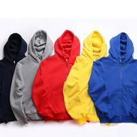 Low price Custom Design Logo Unisex Blank Full Face Zip Hoodies Wholesale