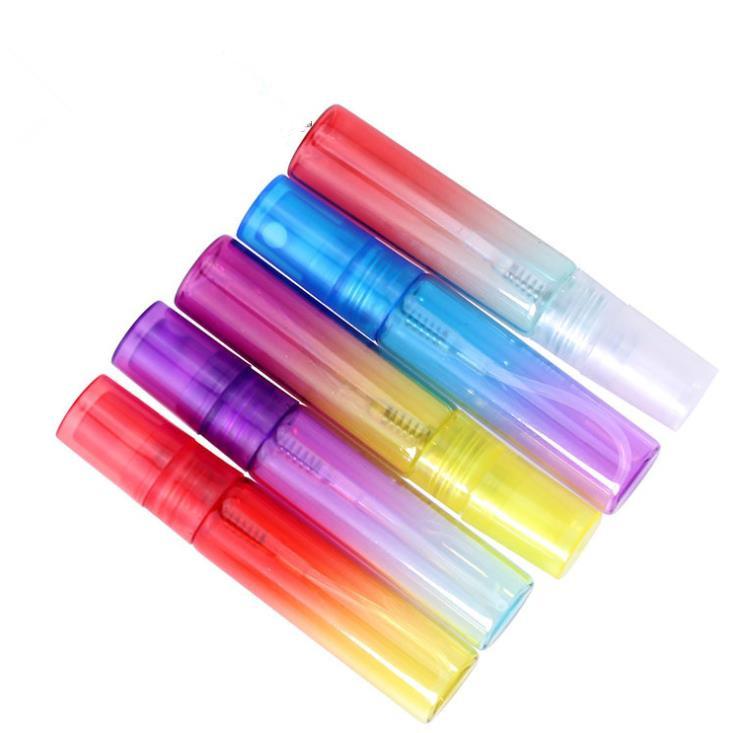 5ml ombre/gradienten parfüm spray flasche mit bajonett papier box paket