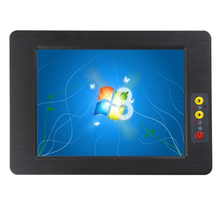 8,4 inch touchscreen alle in einem pc 2G ram 64G SSD mit 2 LAN für optional industrie tablet pc