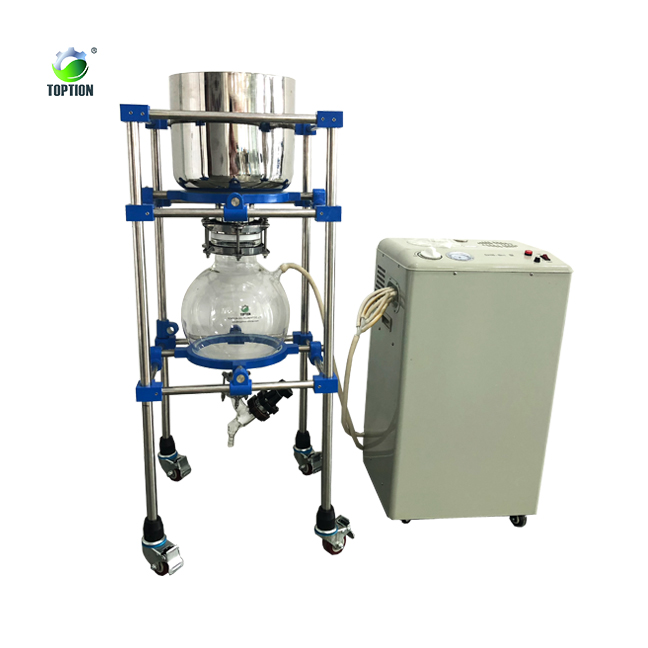 Hemp Oil Lab Nutsche Filter Dryer /vacuum pump <strong>filtration</strong> with collection flask