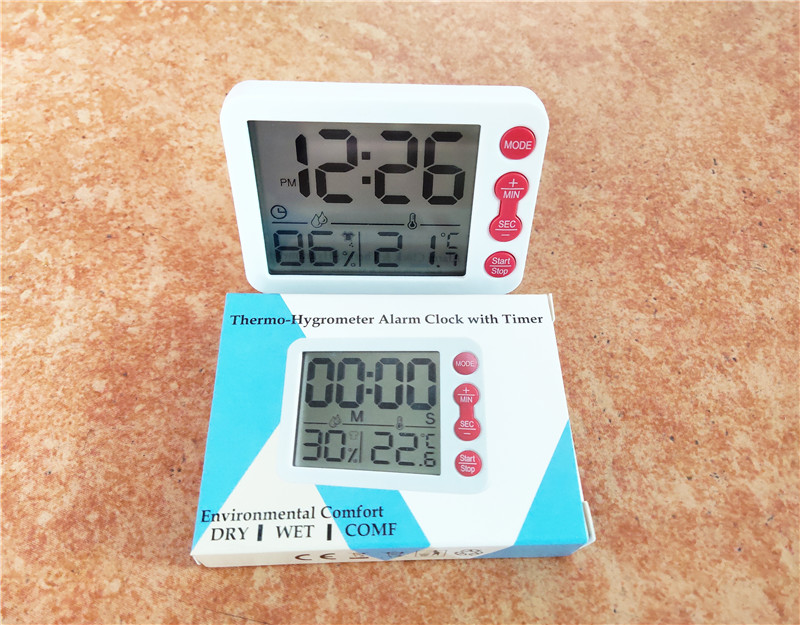 LCD Digital Temperature and Humidity Meter Digital Thermometer