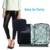 Wholesale waterproof travel oxford fabric makeup cosmetic case bag with zipper