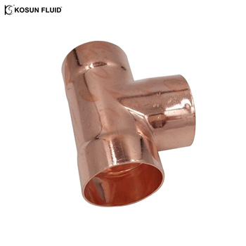 Equal shape Copper material 3/4 inchTee