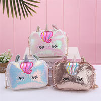 Yiwu mini sequins bag Bow bling back pack women bags glittering sequin backpack