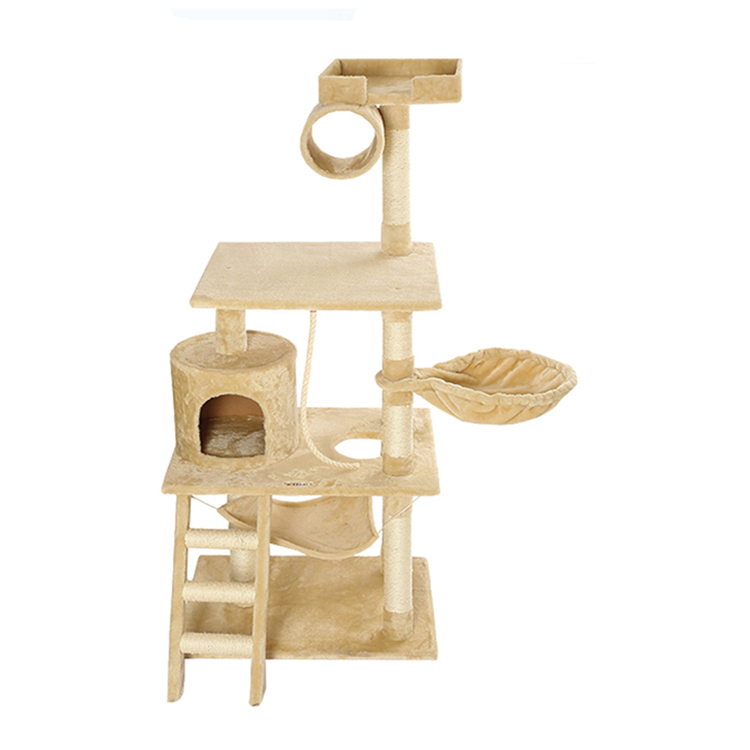 Griffoir chat escalade griffoir arbre, sisal luxe grand chat griffoir arbre bois arbre à chat maison
