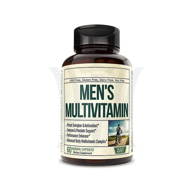 Wholesale OEM/ODM Private Label Advanced Daily Multivitamin For Men Energy Immune&Male Support Men's Multivitamin Capsules