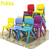 Customized Size Children Plastic Indoor Equipment Colorful Chairs For Kids
