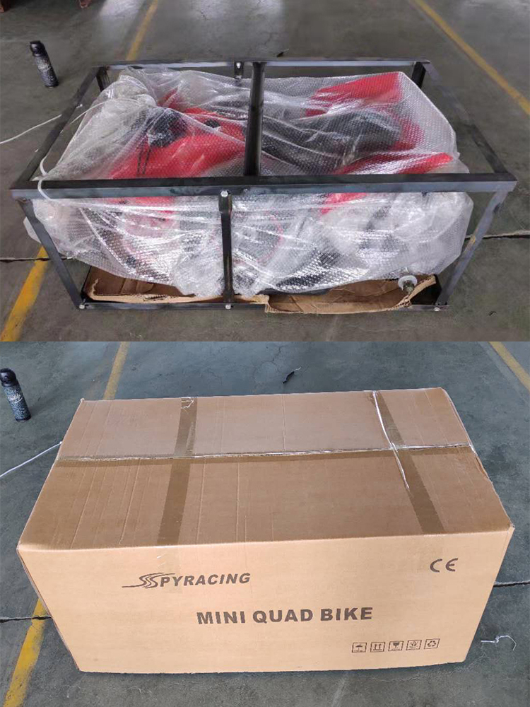 Spy racing 2021  Mini quad bike 500W 36V kids Electric ATV 4x4 four wheeler for sale