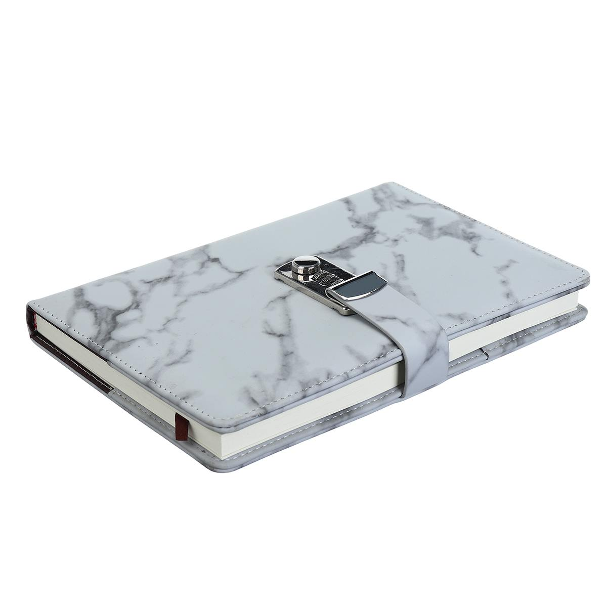 latest product 2019 a5 pu password diary notebook with lock