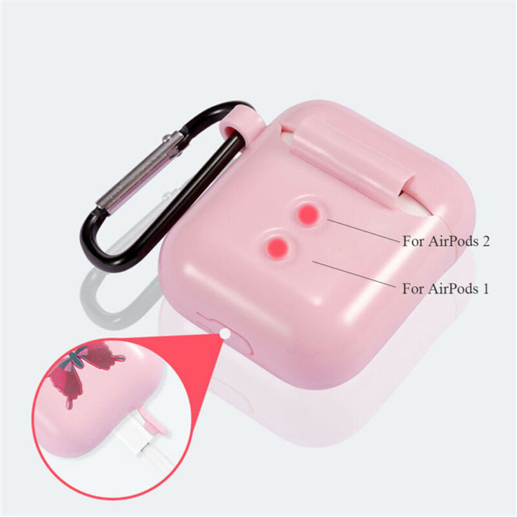 2019 Hottest TPU Earphone Accessories Shockproof  Protective Cover Case For Airpods2