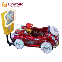 12 Months Warranty Video Game Kiddie Electric Car Kids Theme Park Coin Operated Amusement Rides For Sale