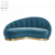 Multi-colors Fabric Velvet Sofa, Upholstered Velvet Sofa, Special Modern Sofa Design