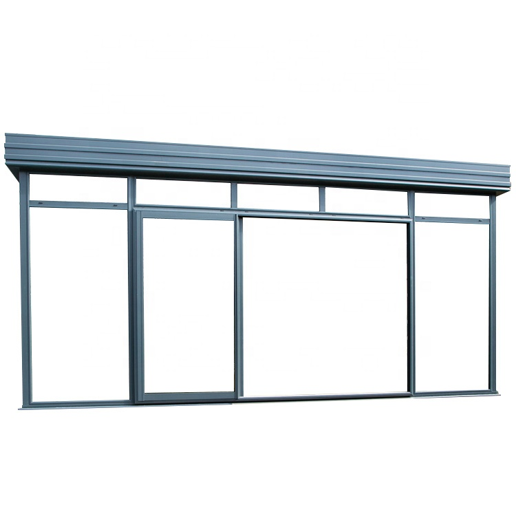 High Quality Outdoor Glass Aluminum Alloy Sun Room
