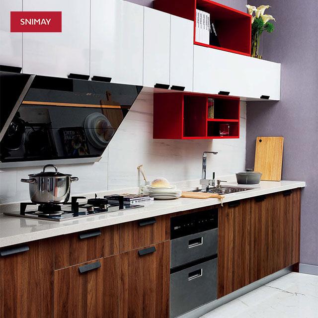 Cinese Produttore Professionale Modello Armadio Da Cucina In Laminato Armadio Da Cucina