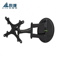 High-end steel LED LCD Plasma universal articulating full motion rotate tv mounting bracket
