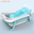 oem pictures cheap price plastic temperature portable spa tub folding bathtub for baby children kids with seat bath set