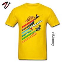 Футболка Rainbow Speed Race Totoro, черепаха, игра, студийный аниме GHIBLI Миядзаки, смешная футболка, мальчик, дракон, Великая футболка(Китай)