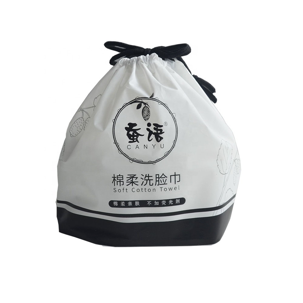 Custom Personal Cleaning Soft Towel Non-woven Fabric Disposable Travel Face Towel