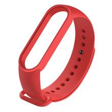 Браслет для Xiaomi Mi Band 5 ремешок спортивные часы силиконовый сменный ремешок для Xiaomi Mi Band 5 браслет Miband 5 ремешок(Китай)