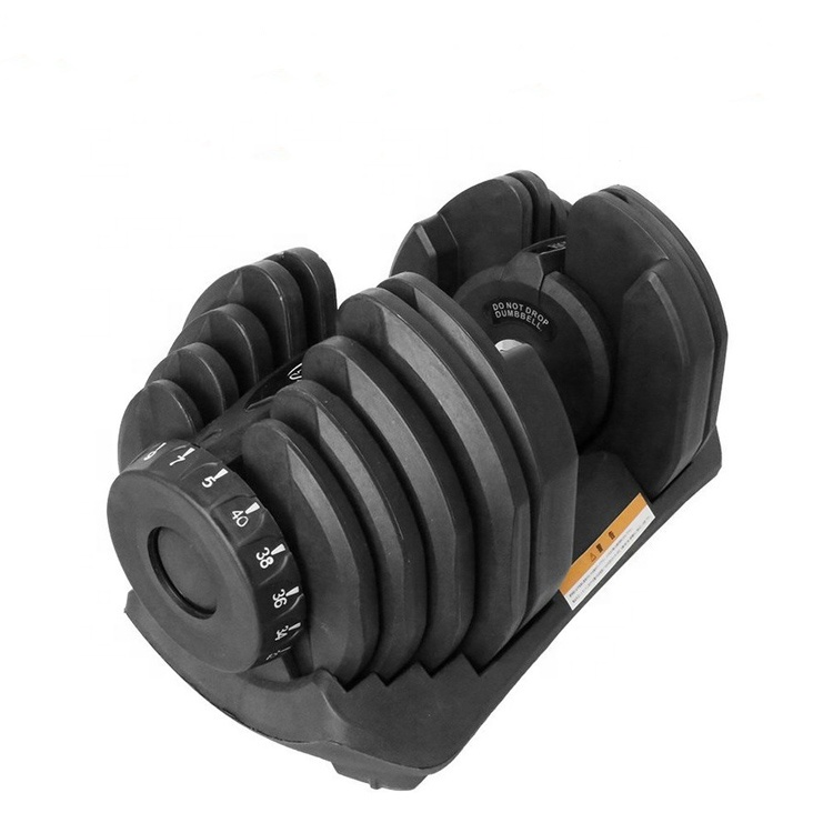 Adjustable <strong>Weights</strong> Dumbbell Set For Body Building Custom Gym Fitness Equipment