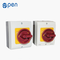 China Suppliers manufacture IP65 100A waterproof fuse isolator switch