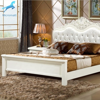 Wood Bedroom Set Furniture Room Double King Size Modern Bed Frame
