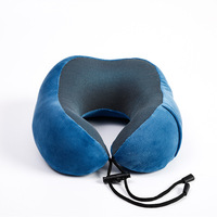 Cooling Set Eye Mask Neck support pillow Cushion 3 in1 U Shape soft Memory Foam Travel Neck Pillow
