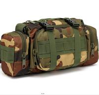 Tactical waist pack military molle bicycle camera bag camo EDC utility pouch hand carry 3P waterproof fanny pack