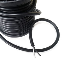3 core bare copper RVV power cable