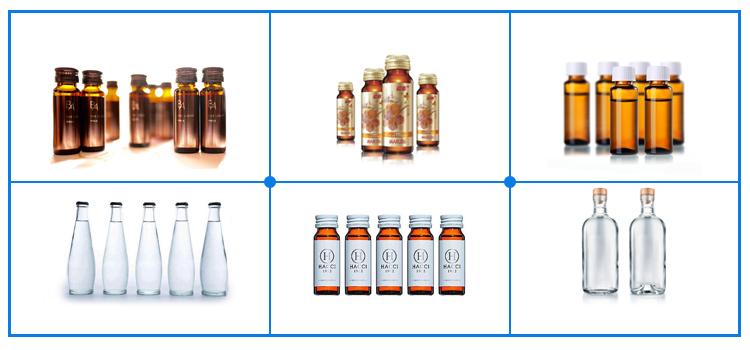 पेय या दूध कांच की बोतल भरने की मशीन