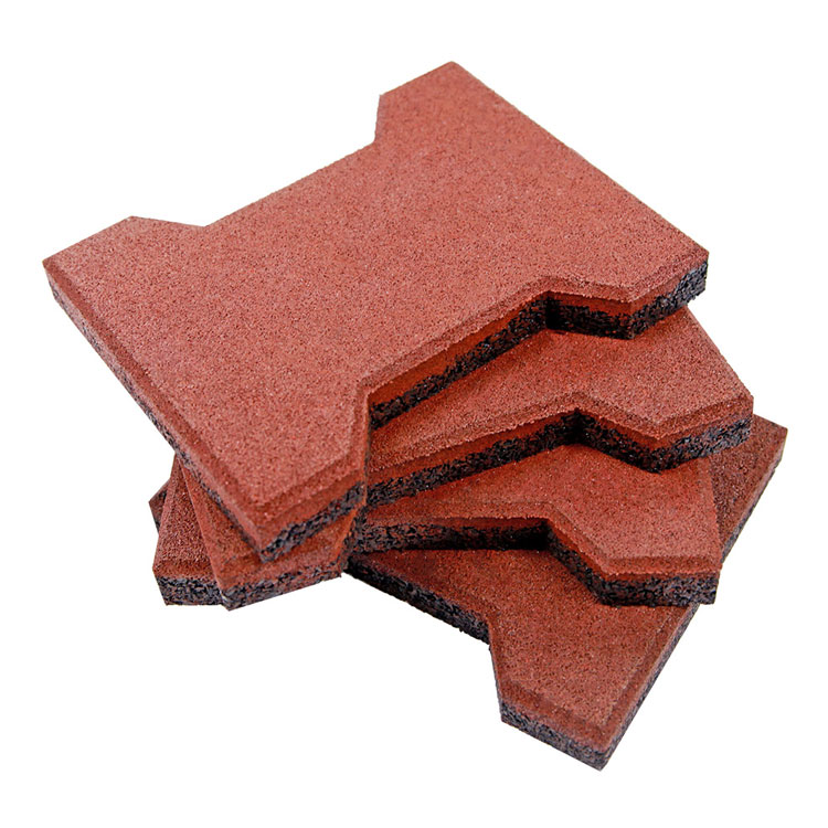 Recycled equine Rubber Bricks/dog-bone paves