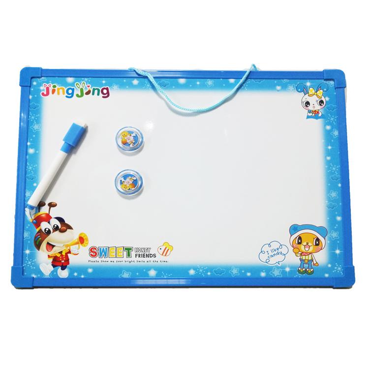 magnetic writing drawing board white toy stell smart white board small school double sided white board for kids - Yola WhiteBoard   szyola.net