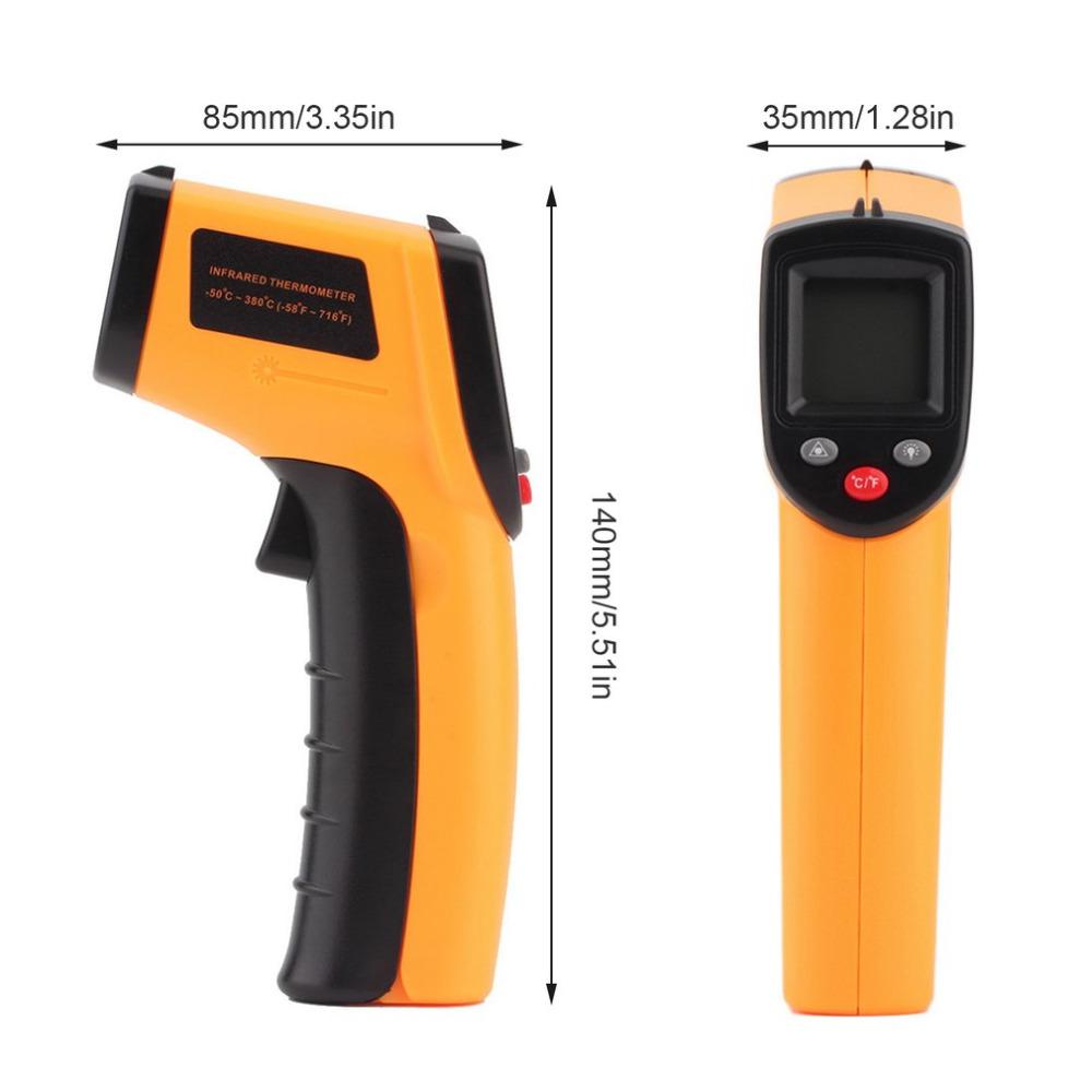 Non Contact Gun Thermometer Laser Temperature Infrared Thermometer GM320 - KingCare | KingCare.net