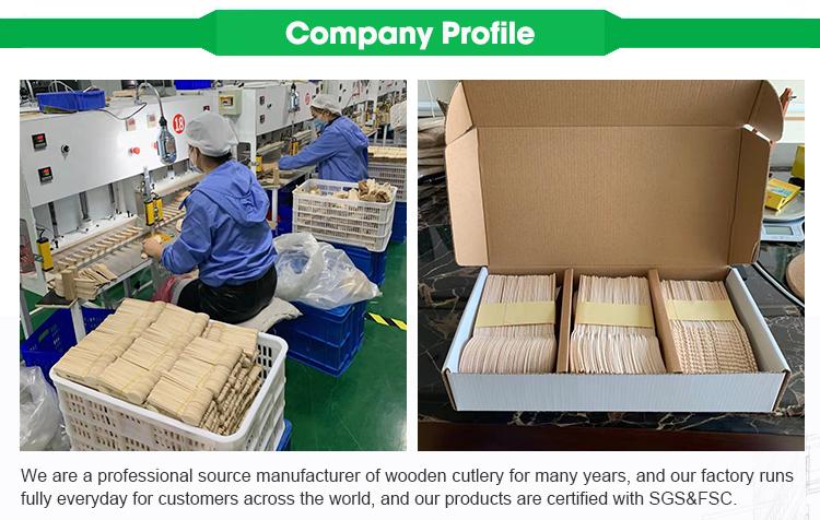 Zhantu Hout Fabriek Verkoop Milieuvriendelijke servies sets