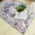 high quality floral print carpet shaggy 3D print tapis entree