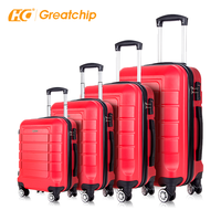ABS PC Polycarbonate Hard Case Suitcase with USB Charger Weighing Scale Smart Travel Trolley 4 Wheel Spinner Bags Luggage sets