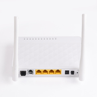 BTPON cheap OEM 4 port wifi fiber optic ftth 1ge+3fe+wifi gpon onu 4fe+wifi Gpon/Epon onu